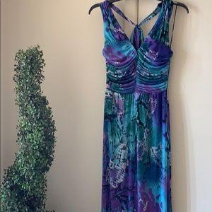 Caché Formal maxi dress